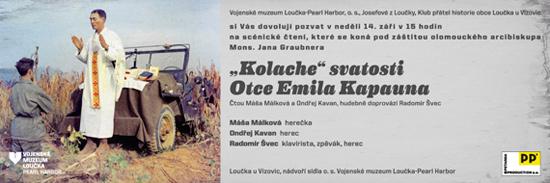 Představení ct. Otce Emila Josefa Kapauna poprvé v České republice a právě v Loučce